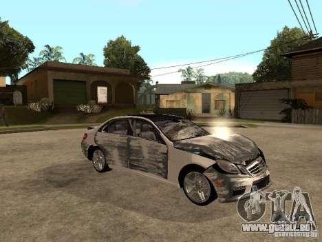 Mercedes-Bens e63 AMG für GTA San Andreas obere Ansicht