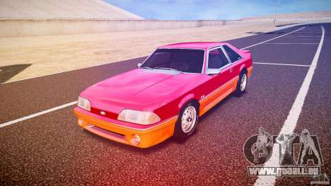 Ford Mustang GT 1993 Rims 2 pour GTA 4