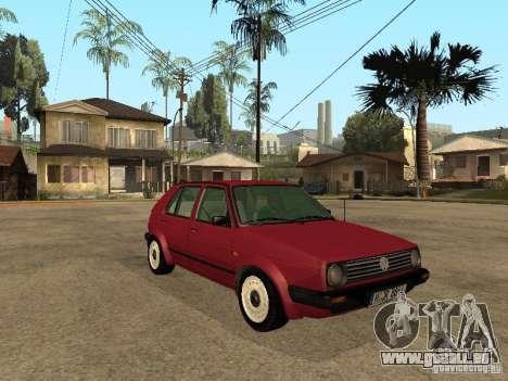 Volkswagen Golf MKII 5dr für GTA San Andreas rechten Ansicht