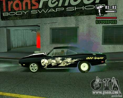 Dodge Charger R/T 69 für GTA San Andreas linke Ansicht