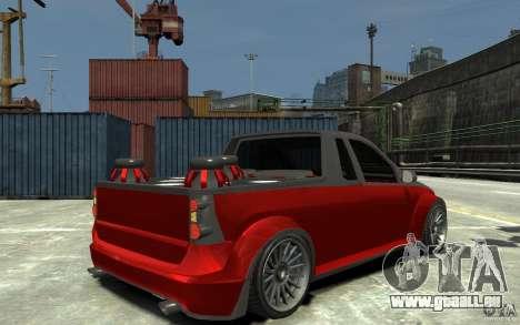 Dacia Pick-up Tuning pour GTA 4 est un droit