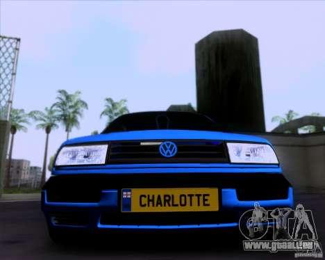 Volkswagen Golf III pour GTA San Andreas laissé vue