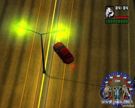 Nouveaux effets pour GTA San Andreas huitième écran