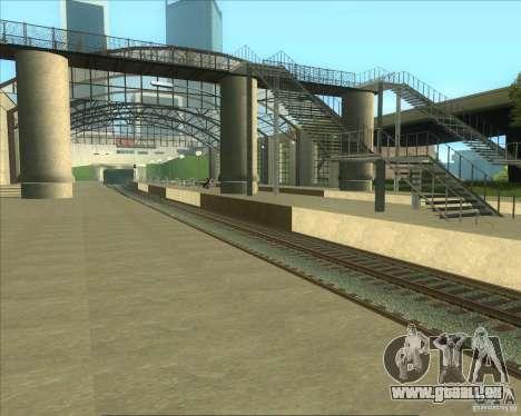 Les plates-formes élevées dans les gares pour GTA San Andreas quatrième écran
