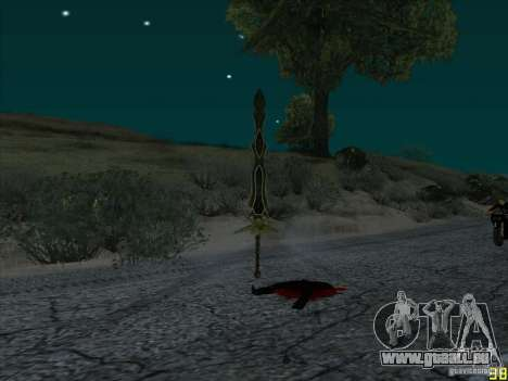 Griffe Beliara pour GTA San Andreas troisième écran