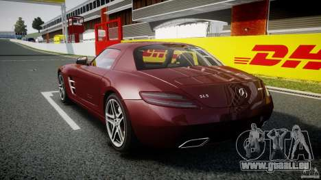 Mercedes-Benz SLS AMG 2010 [EPM] pour GTA 4 est un droit