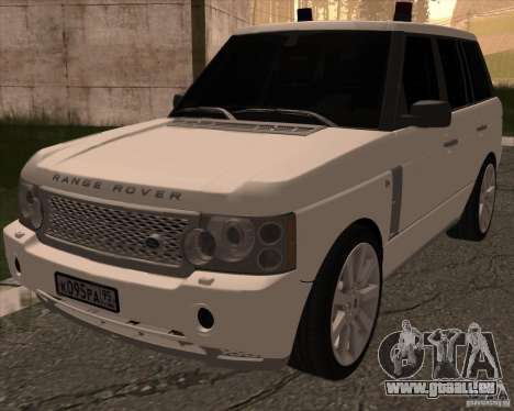 Land Rover Range Rover Supercharged für GTA San Andreas