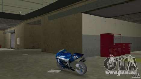 Yamaha Sportbike beta 1.0 pour GTA Vice City sur la vue arrière gauche