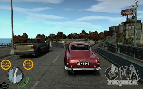 Feux de voiture pour GTA 4 troisième écran