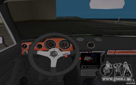 VAZ 2106 Tuning v3.0 pour une vue GTA Vice City d'en haut