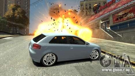 Audi S3 2009 für GTA 4 Seitenansicht