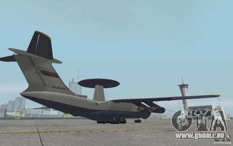 Berijew A-50 Mainstay pour GTA San Andreas vue arrière