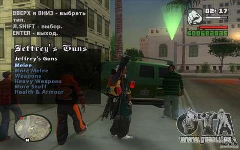 Gun Seller pour GTA San Andreas cinquième écran