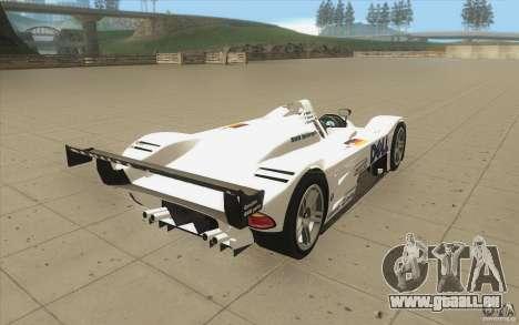 BMW V12 LeMans - Stock pour GTA San Andreas vue de côté