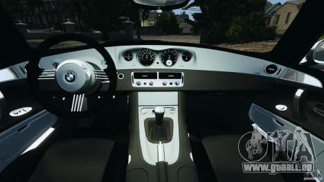 BMW Z8 2000 pour GTA 4 Vue arrière