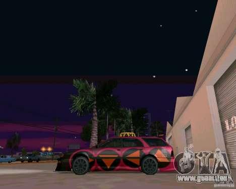 Stratum Tuned Taxi für GTA San Andreas zurück linke Ansicht