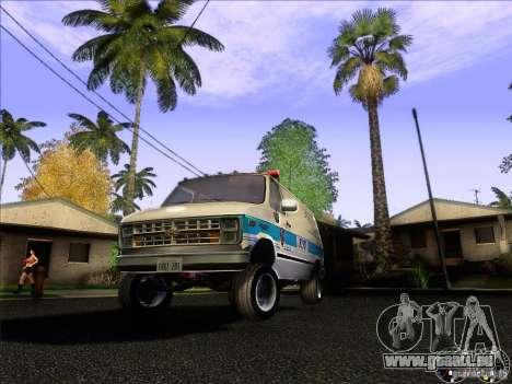 Chevrolet VAN G20 NYPD SWAT für GTA San Andreas