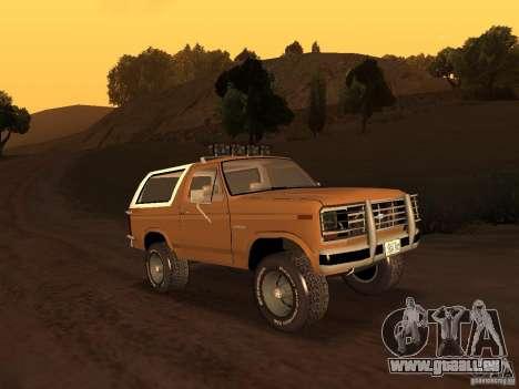 Ford Bronco 1985 pour GTA San Andreas