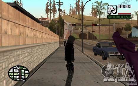 Alex Mercer für GTA San Andreas her Screenshot