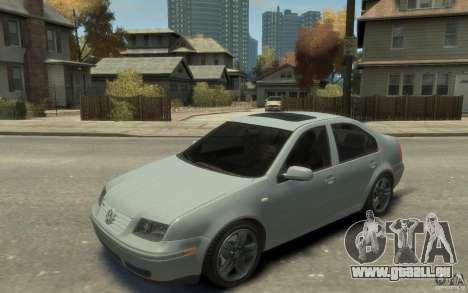 Volkswagen Bora V6 2003 pour GTA 4