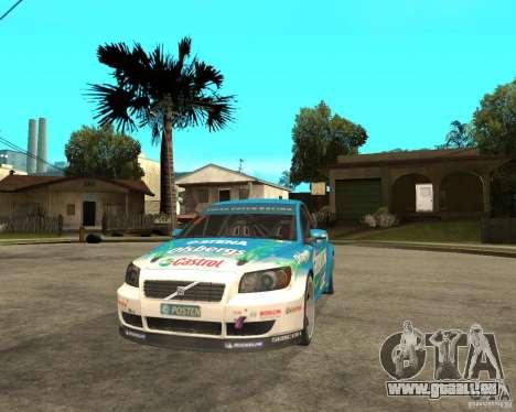 VOLVO C30 STCC pour GTA San Andreas vue arrière