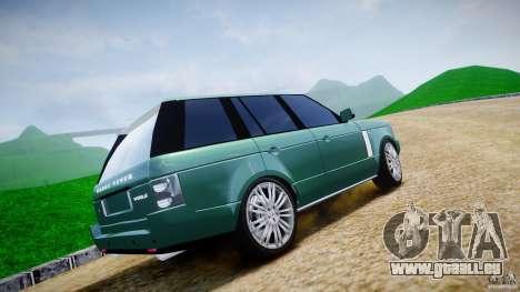 Range Rover Vogue für GTA 4 Unteransicht