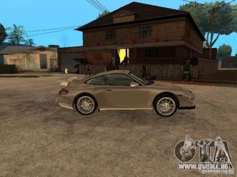 Porsche 911 (997) GT3 v2.0 pour GTA San Andreas laissé vue