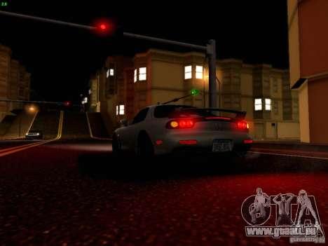 Mazda RX-7 für GTA San Andreas Innen