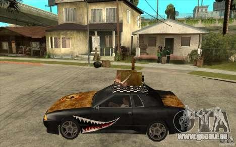 Elegy Rost Style pour GTA San Andreas laissé vue
