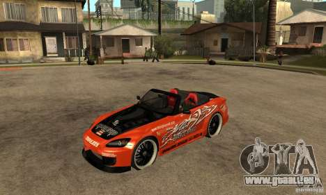 Honda S2000 CHARGESPEED pour GTA San Andreas