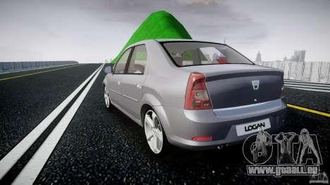 Renault Logan für GTA 4 hinten links Ansicht