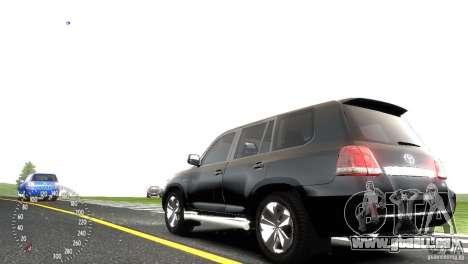 Toyota Land Cruiser 200 RESTALE für GTA 4 Rückansicht