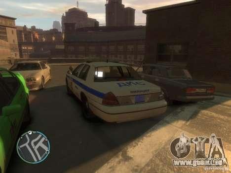 Ford Crown Victoria Police pour GTA 4 Vue arrière de la gauche