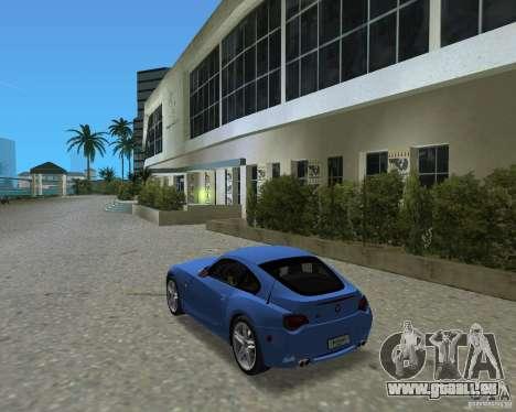 BMW Z4 pour une vue GTA Vice City de la droite
