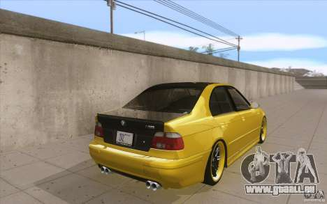 BMW M5 E39 - FnF4 pour GTA San Andreas vue de côté