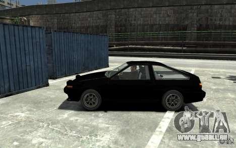 Toyota Sprinter Trueno AE86 pour GTA 4 est une gauche