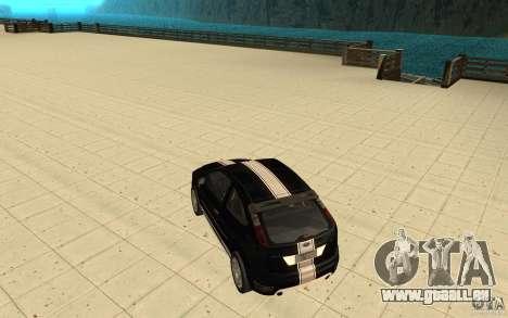 Ford Focus-Grip für GTA San Andreas Unteransicht