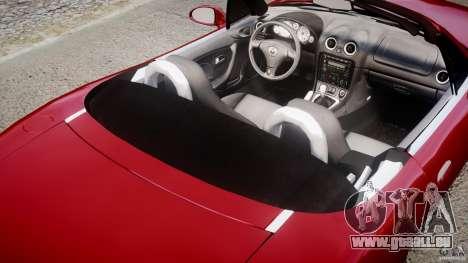 Mazda MX-5 Miata pour GTA 4 est un côté