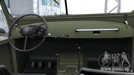GAZ-69A, 1965 für GTA 4 rechte Ansicht