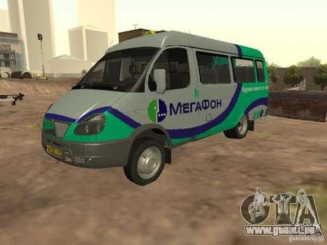 Gazelle 32213 mégaphone pour GTA San Andreas