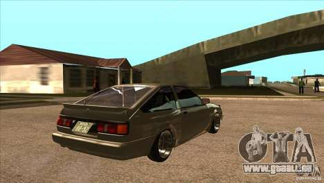 Toyota AE86 JDM für GTA San Andreas rechten Ansicht