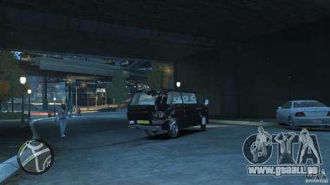 Volkswagen Transporter T3 für GTA 4 Seitenansicht