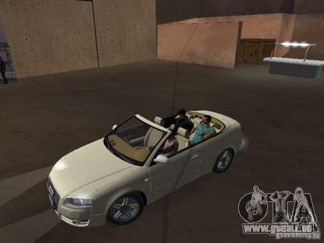 Audi A4 Convertible v2 für GTA San Andreas rechten Ansicht