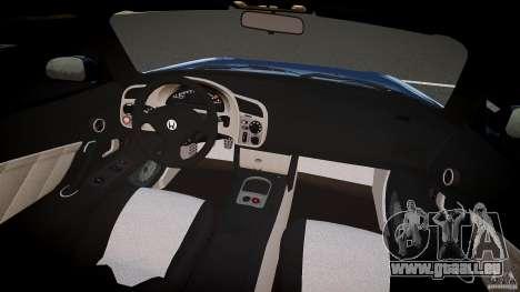 Honda S2000 2002 v2 pour une balade tranquille pour GTA 4 est un droit