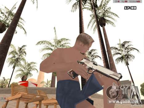 Woody Weapons Pack für GTA San Andreas