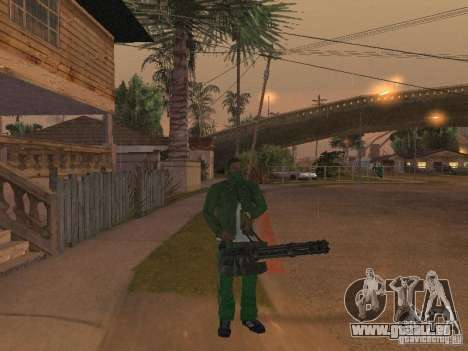 Armes de CLEO pour GTA San Andreas