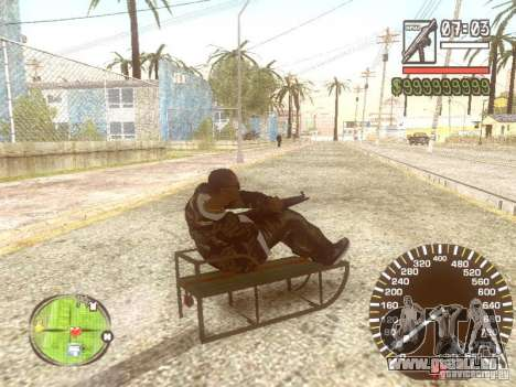 Sani für GTA San Andreas Innen