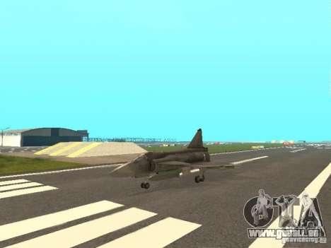 Saab JA-37 Viggen für GTA San Andreas linke Ansicht