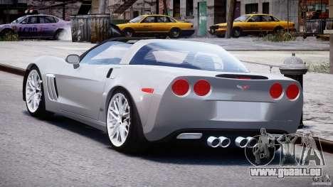 Chevrolet Corvette Grand Sport 2010 v2.0 für GTA 4 hinten links Ansicht