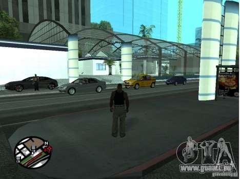 Doherty Plaza-neue Dorothy für GTA San Andreas zweiten Screenshot